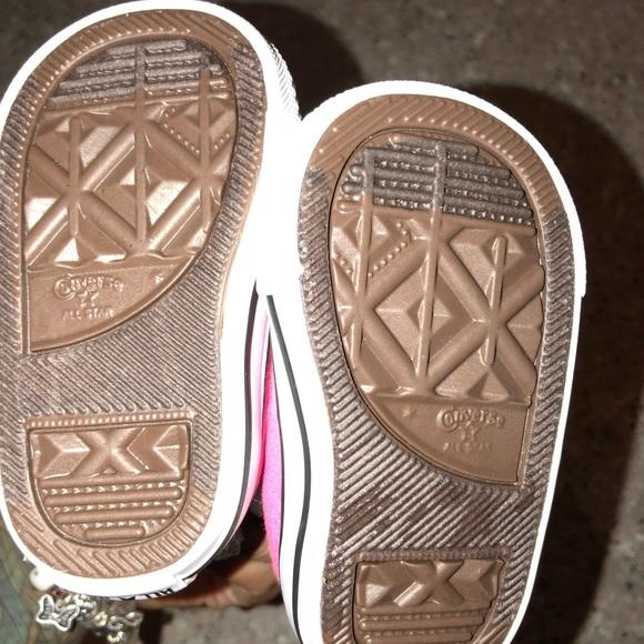 Converse Shoes Infantile Per Le Ragazze Formato 2 desg0kSJ